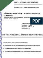 Cap 02 Establecimiento de La Direccion de La Compania