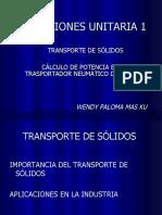 Presentacion-transporte de Solidos