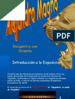 Exposición de Alejandro Magno [Recuperado]