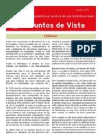 PSOE Alcántara. Punto de vista Verano 2010