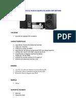 Sony presentó el nuevo equipo de audio CMT MX700Ni