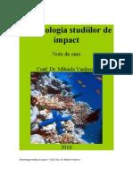 Curs Metodologia Studiilor de Impact