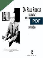 Ricoeur-Life in Quest of Narrative