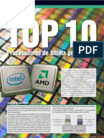 Top 10 Procesadores