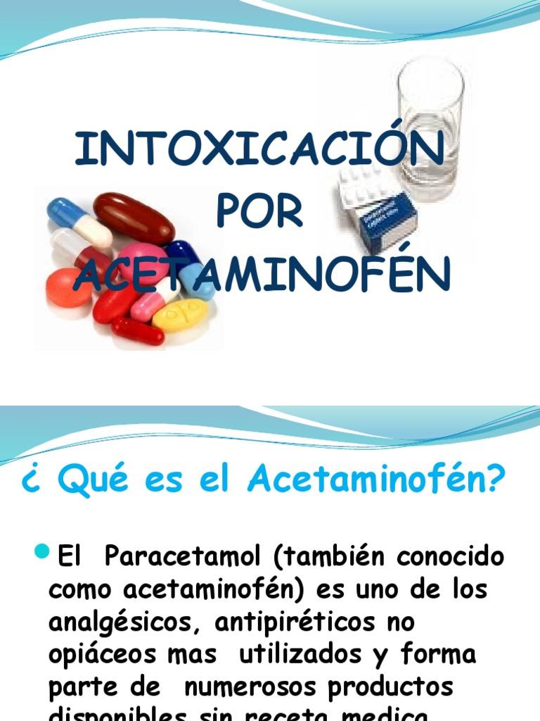 presentacion acetaminofén