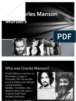 The Charles Manson Murders