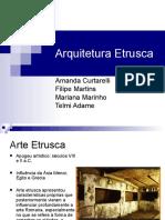 Arquitetura Etrusca