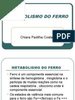 CGA.hematologia.metabolismo Do Ferro