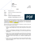 042811 LC Planning Commission Med Marijuana Ordinance Memo