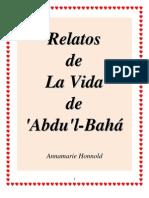 Relatos de la Vida de 'Abdu'l-Bahá