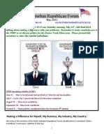 NSRF May 2011 Newsletter