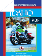 Idaho Motorcycle Manual