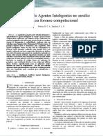 Arquitetura de Agentes Inteligentes no auxílio à perícia forense computacional