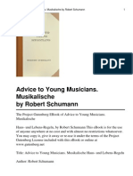 Advice to Young Musicians
