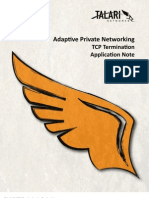 TCP Termination Application Note