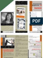 Flyer Seminario Impulsando Negocios I