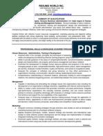 Human Resources Sample