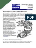 NAMFREL Election Monitor Vol.2 No.9 05092011