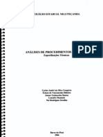 Projeto final -análise de procedimentos e normas-2006