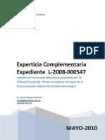 Experticia L-2008-000547