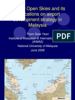 ASEAN Open Skies and Its Implications on Airport Development Strategy in Malaysia