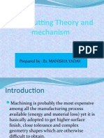 13513_Metal Cutting Theory and Mechanism