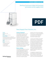 SC0249 Sony Supply Chain Solution CCS