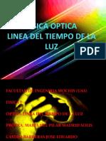 Linea de Tiempo de La Luz Fisica