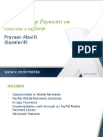 Praveen Alavilli - Mobile In-app Payments on Android Platform