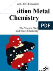 Transition Metal Chemistry - The Valence Shell in D-Block Chemistry - Gerloch