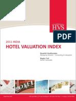 HVS India Hotel Valuation Index HVI 2011