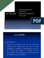 Ley 20.501 presentación