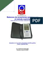balanceo_ecua_calc_matriz_cp300_I