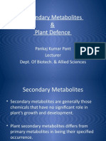 Secondary Metabolites Pankaj Presentation