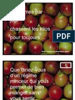 3 Pommes Par Jour Chassent Les Kilos Pour Toujours