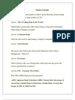 Finance Imp Concepts
