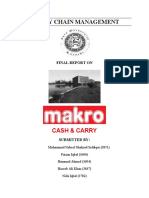 Supply Chain Management- MAKRO Cash & Carry