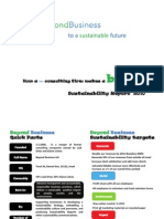 Beyond Business Sustainability Report 2010
