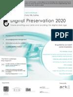 Digital Preservation 2020