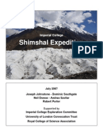 Shimshal Expedition