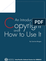 An Introduction to Copyright and How to Use It