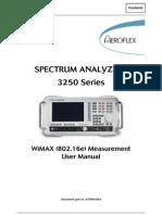 WiMax Measurement User Manual