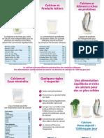 Alimentation et Calcium