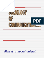 Sociology of Comm