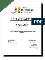 CSE301 gourav