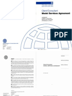 FIDIC - Client Consultant- Model Services Agreement 2006
