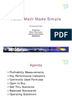 Retail Math Made Simple Pres.