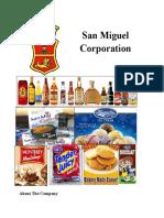 CSR San Miguel Corporation