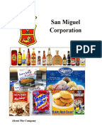 san miguel corporation swot analysis San miguel corporation (pse: smc) is a filipino multinational publicly listed conglomerate holding companyit is the largest publicly listed food, beverage and packaging company in southeast asia as well as the philippines' largest corporation in terms of revenue, with over 17,000 employees in over 100 major facilities throughout the asia-pacific region.