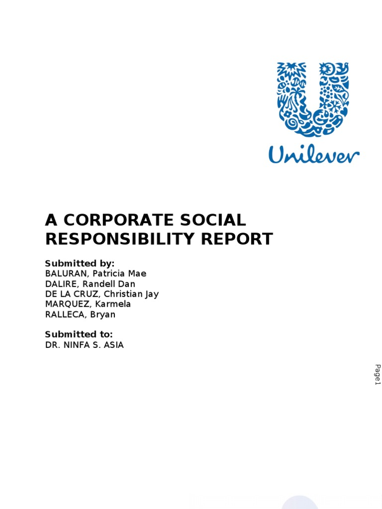 csr on cadbury The cadbury report the corporate governance committee was set up in may 1991 by the financial reporting council, the stock sustainability, csr and esg (16.
